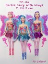 TP Barbie Fairy With Wings