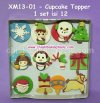 XM13-01 - Cupcake Topper isi 12