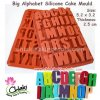 Big Alphabet Silicone Cake Mould