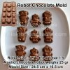 SMC022 - Robot Chocolate Mold