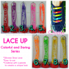 Lace Up Colorful and Daring Silicone Shoe Lace tali sepatu murah Zoom Lace Up Colorful and Daring Si