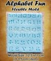 FLM008 Alphabet Fun Flexible Mold